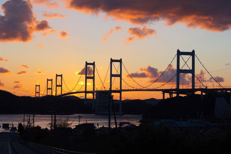 しまなみ海道のフィナーレ!愛媛県「夕暮れの来島海峡」が凄い