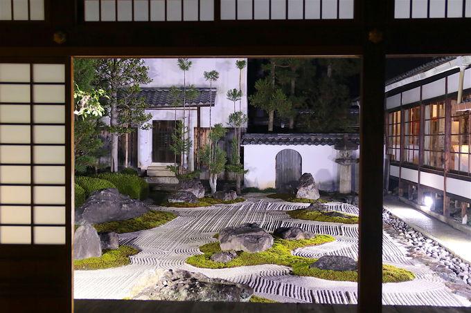 現代アートと紡ぐ!「妙蓮寺」十六羅漢の庭ライトアップ