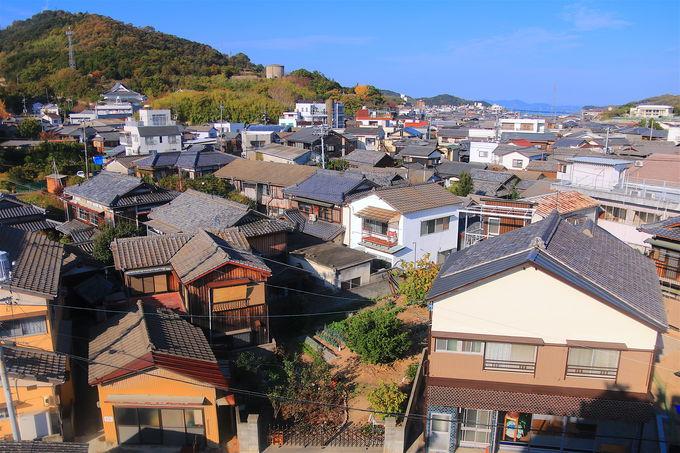 岡山・高松からの玄関口!迷路と絶景の港町「土庄」