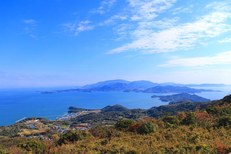 言葉を失う美しさ!最高峰「壇山展望台」から見る小豆島