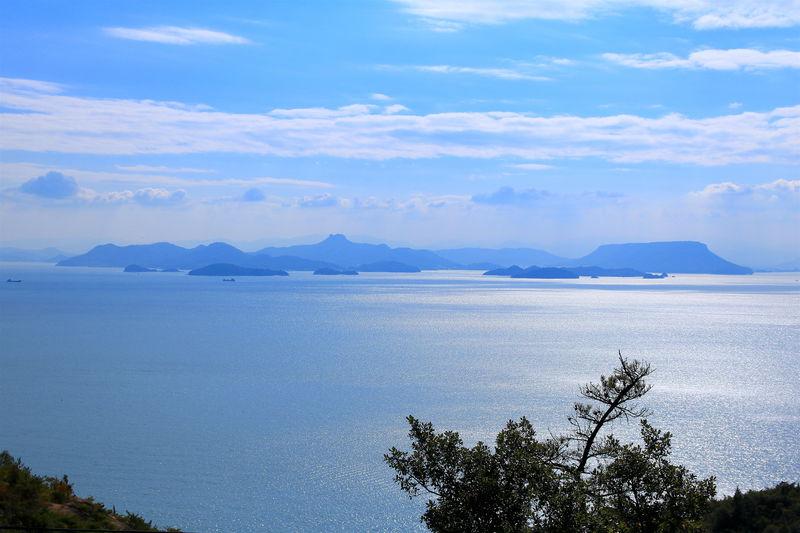 四国と多島美のコラボ!「鰯浜展望所」の絶景パノラマ