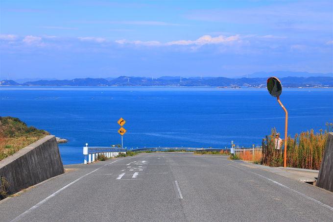 瀬戸内海有数の絶景道!一度は訪れたい「海へ飛び込む道」