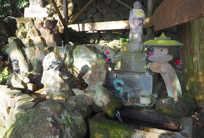 自然×人の共存のカタチ!湧水が流れる第44番札所「湯船山」