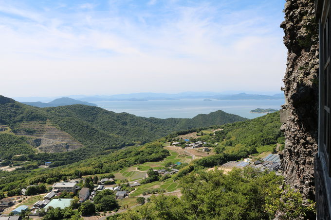 小豆島と言えば山岳霊場!大パノラマの第72番札所「笠ヶ瀧寺」