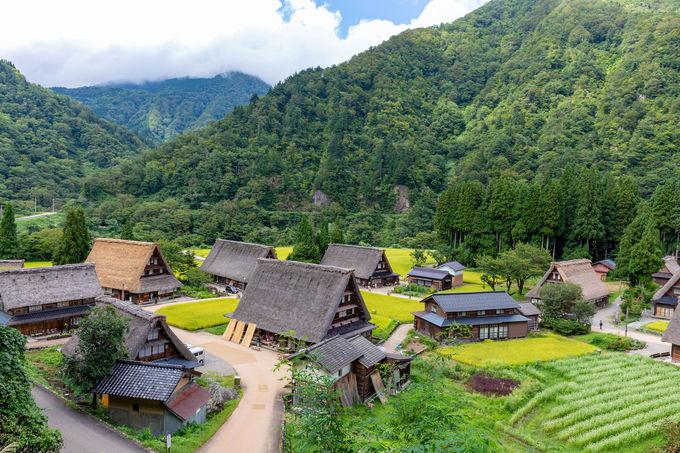 実は富山県にも!世界遺産「五箇山の合掌造り集落」