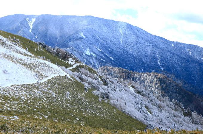 神坂小屋を越えて!「富士見台高原」白銀世界を堪能