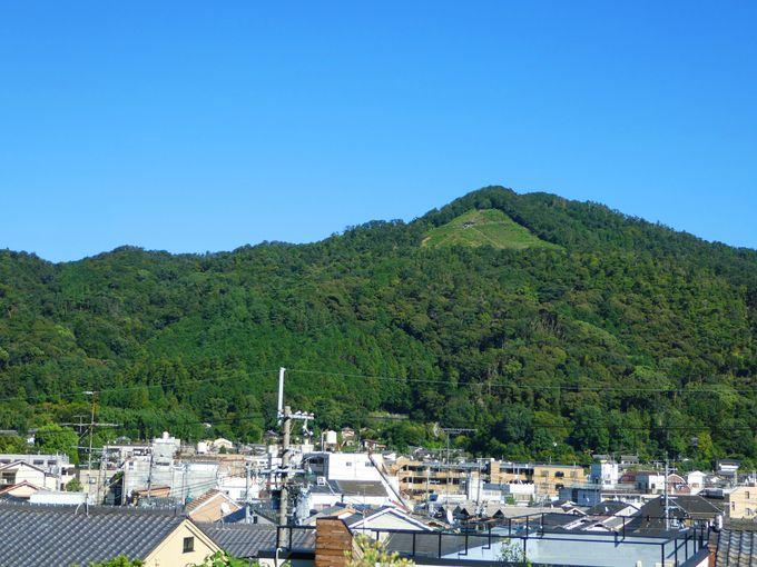 京都東山の象徴「大文字山」!実は人気の登山スポット