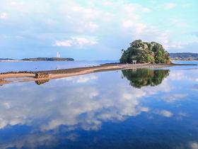 海の道を渡って参拝!壱岐のモンサンミシェル「小島神社」