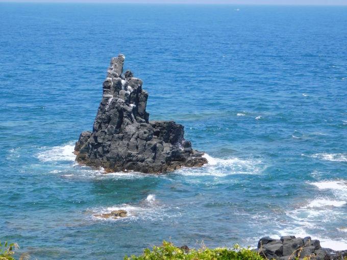 壱岐の八本柱の一つ!絶景奇岩の「猿岩」