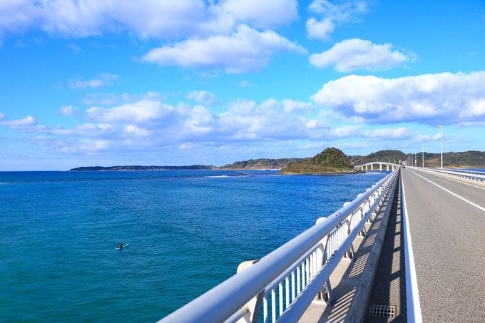 日本屈指の美しさを見せる「角島大橋」
