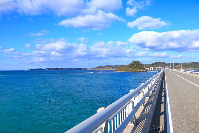 海・空・橋が一体!爽快すぎる角島大橋ドライブ