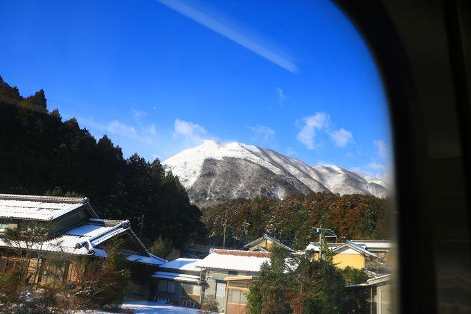 三岐鉄道・西藤原駅からすぐ!「藤原岳」美しき雪山世界へ