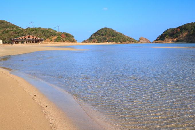 「辰ノ島」へ上陸!無人島に広がる美しい海水浴場