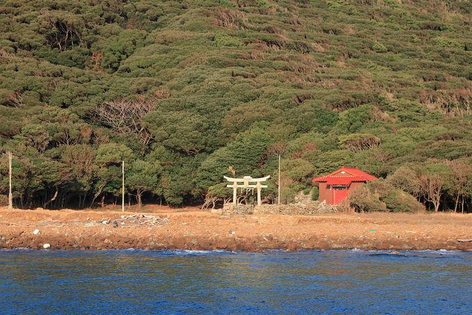 勝本中心部から徒歩5分!遊覧船でいざ「辰ノ島」へ