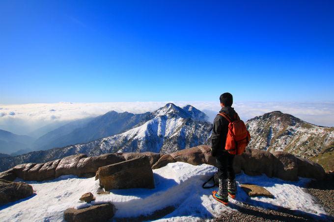 西日本最高峰の頂「石鎚山」へチャレンジ
