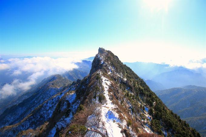 石鎚山の山頂パノラマ!「天狗岳山頂」まではスリリング