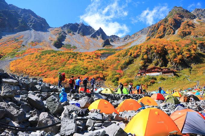 上高地から穂高の別天地へ!テント泊で「涸沢カール」登山
