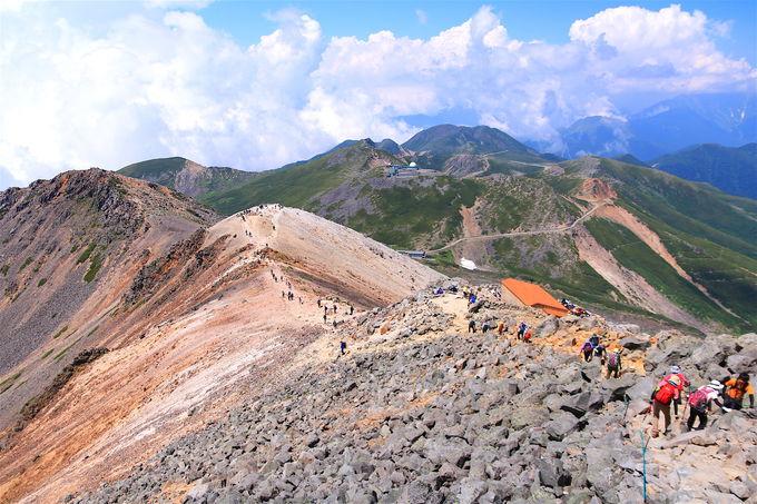 バスで標高2700mへ!日帰りで「乗鞍岳」剣ヶ峰登山