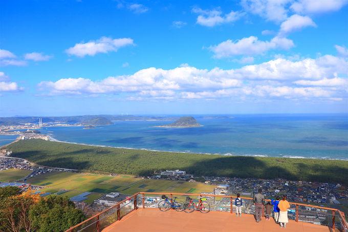 まさにスカイテラス!「鏡山展望台」の絶景がすごい