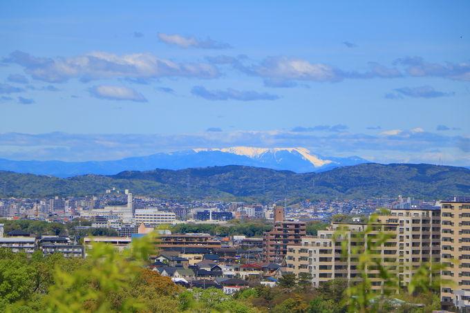 ロバの背山の「展望台」!木曽の名峰・御嶽山の眺望も
