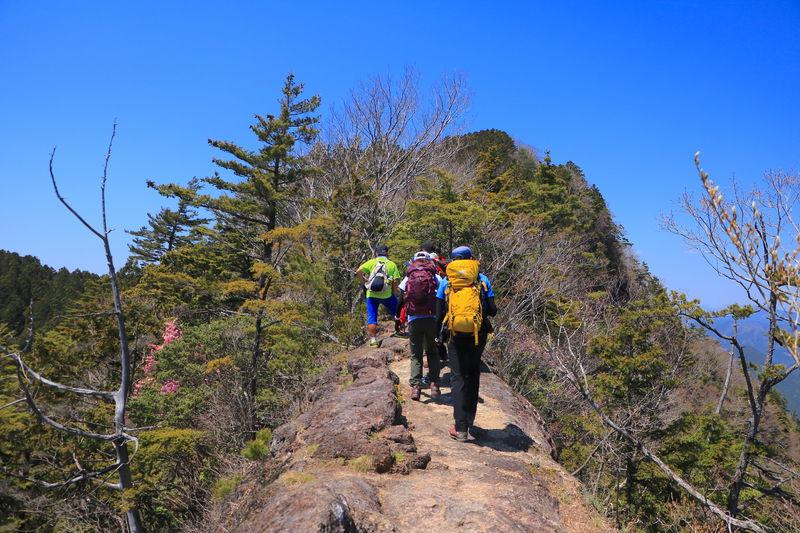 本格登山の第一歩に!愛知新城「三ツ瀬明神山」乳岩コース