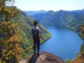 日本離れした絶景!新城「上�搖竅vはスリル満点・秘境の岩峰