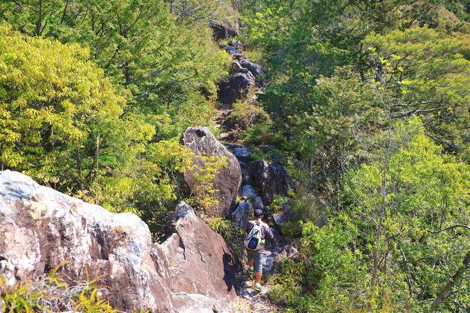 上臈岩への行き方!2つのルートどちらを取るか?