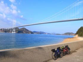 渡れるのは二輪だけ!?しまなみ海道「馬島」上陸サイクリング