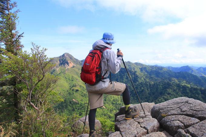 圧倒的な展望とアスレチックな稜線!「御在所岳」前半