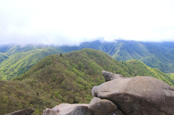 後半は鈴鹿山脈の屋根歩き!爽快な展望と「望湖台」の絶景