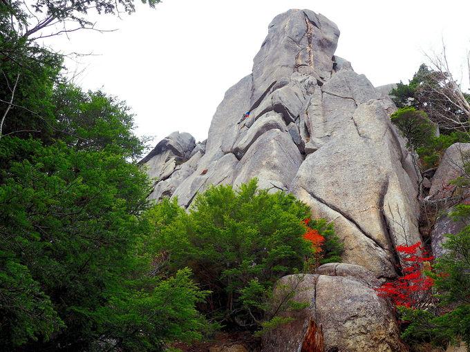 ここからが正念場!沢渡から奇岩のひしめく登山道へ