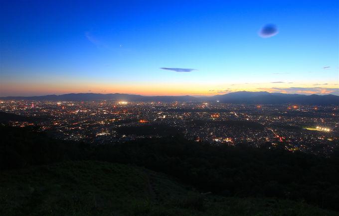 火床のパノラマは京都有数!気軽に登れる「大文字山」