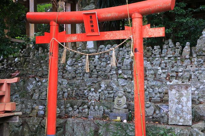 神社境内に猿だらけ?霊験あらたかな「男嶽神社」