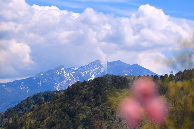 白山に御嶽山の展望!圧倒的な「兜岩」の大展望