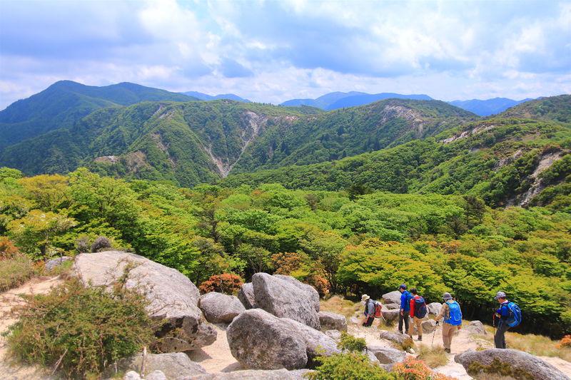 まるで日本アルプス?鈴鹿「釈迦ヶ岳」北尾根からパノラマ縦走登山
