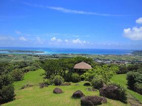 はての浜も見える!久米島屈指の絶景スポット「登武那覇城跡」