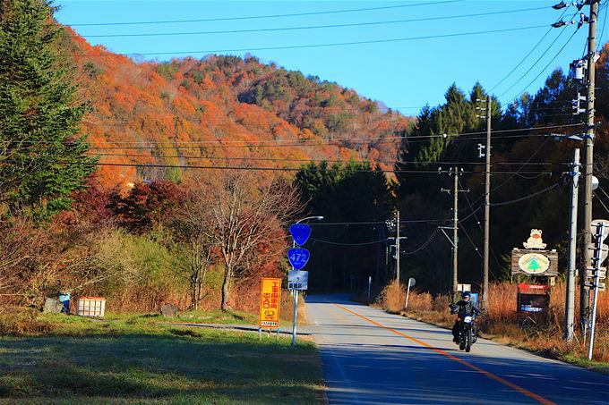 飛騨が誇る秋のドライブスポット「飛騨せせらぎ街道」