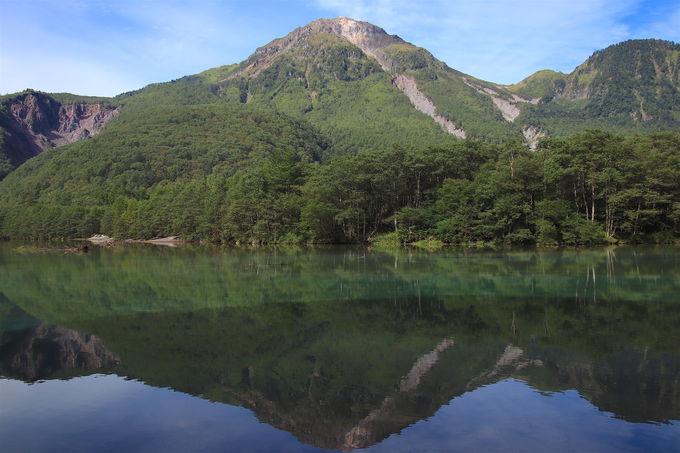 日本離れした山岳絶景!「上高地」から眺める穂高の岩塊