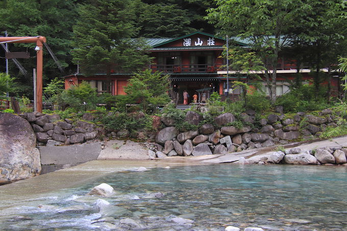 新穂高「深山荘」でアルプスに抱かれる絶景秘湯を満喫!
