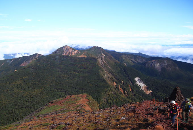 四つ目のアルプスといわれる「八ヶ岳連峰」