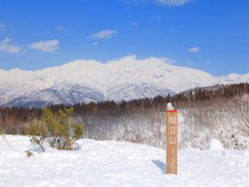 初心者でも挑戦可能!福井「取立山」へ白山展望の雪山登山