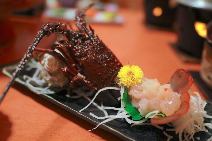 伊勢海老やアワビを堪能!海鮮料理が豪華すぎる