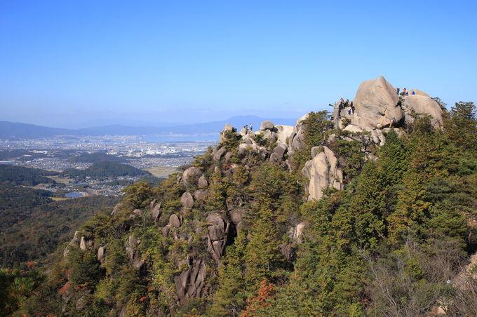 圧倒的な満足度の低山「金勝アルプス」登山