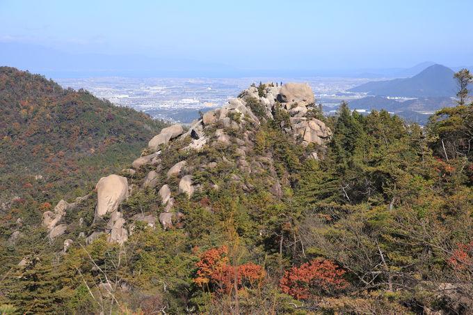 アルプスと富士山が隣り合う。「天狗岩尾根」を下る!