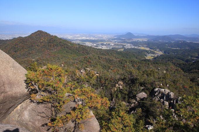 圧倒的な大パノラマが待つ!金勝アルプス山頂「天狗岩」