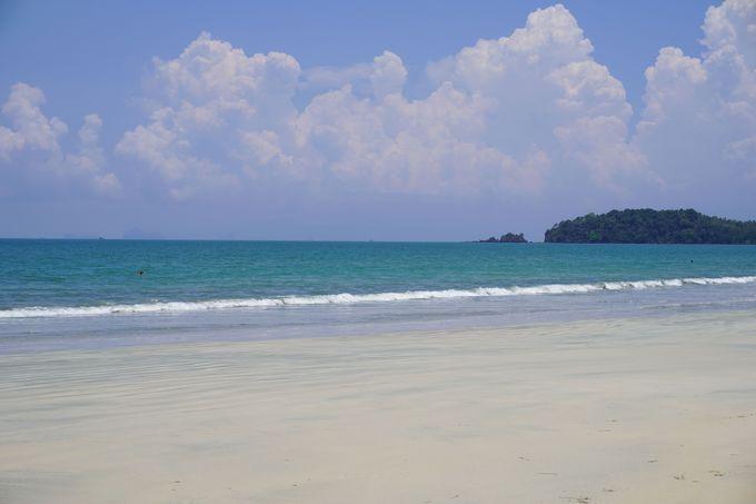 落ち着いたビーチライフが魅力的な「パヤーム島」