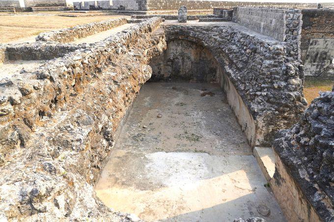 オランダが建設した「ジャフナ要塞」