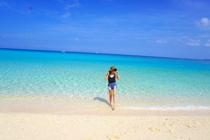 更に透明なボラカイ島の海を満喫するならオプションで島巡りへ