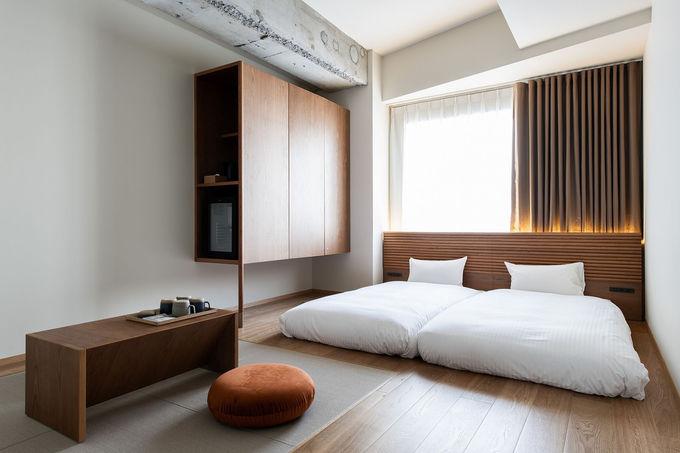 ロフトもありグループ向けの部屋が充実したホテル