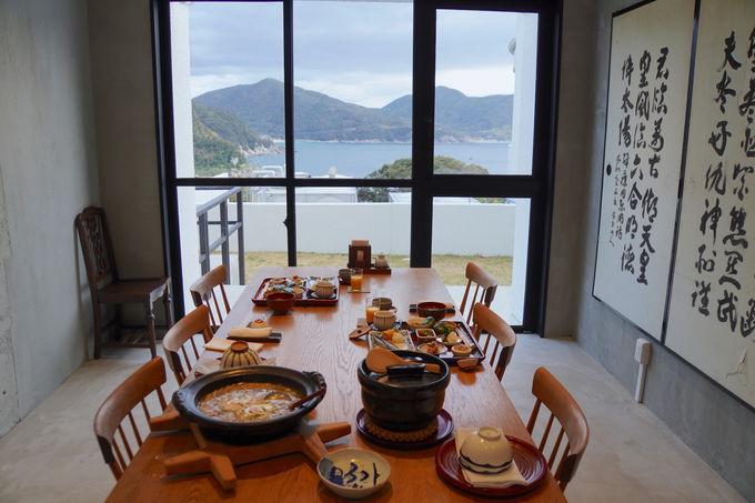 五島を味わえるバランスのとれた和朝食